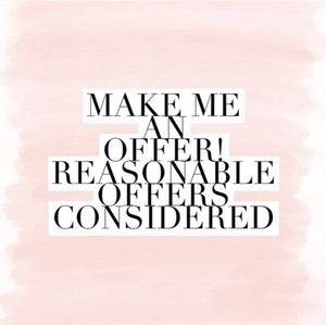 Make me a offer!